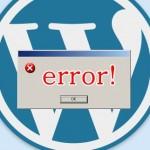 アップデートでエラー「このWordPressのデータベースはすでに最新のものです!」