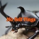 No Self Pingsの使い方&ピンバックとトラックバックの違い