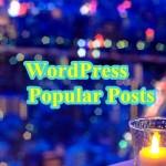 WordPress Popular Postsで人気記事ランキングを設置してPV数を増加!
