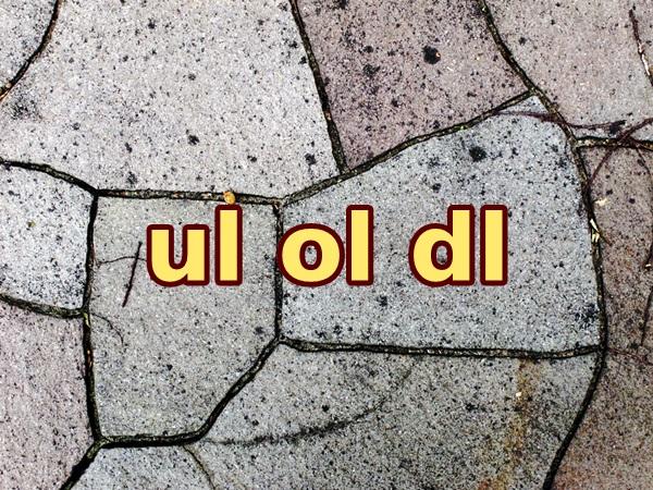 ul-ol-dl